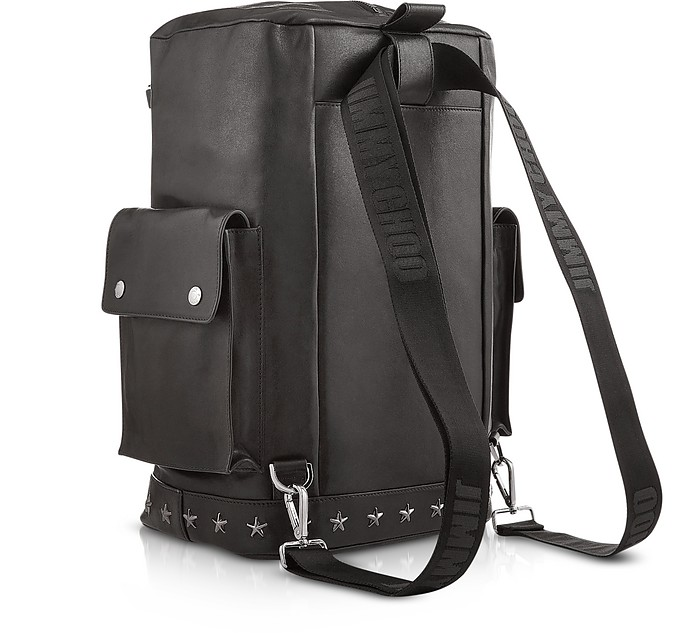 0a7619b1c62e Facebook · Twitter · Pinterest · Share on Tumblr. Arlo BLS Black Leather  Convertible Backpack ...