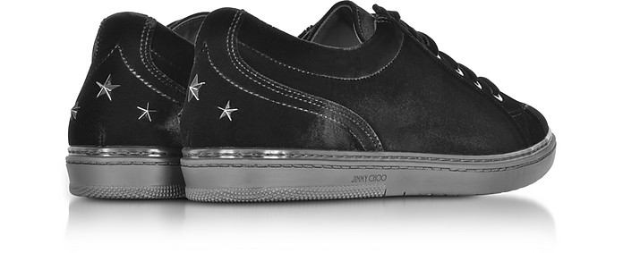 Cash Sneakers in Velluto Nero Jimmy Choo 39 (39 EU) 5DFvOm3K
