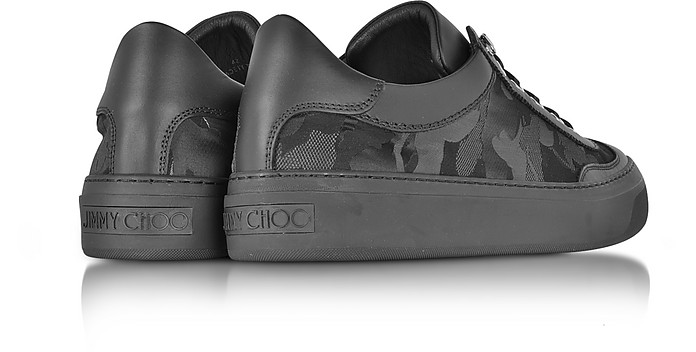 ddd3f0d3728 Ace Black Camo Fabric Mix Low Top Sneakers - Jimmy Choo. Sold Out