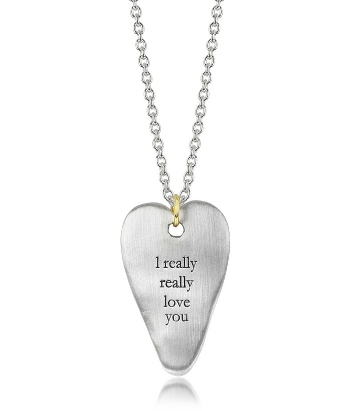BJORG LOVE YOU NECKLACE