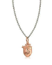 Anatomic Heart Locket Necklace - Bjorg