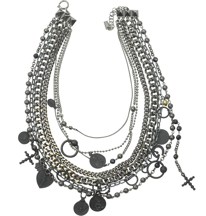 Madonna Multi Chain Necklace - Jean Paul Gaultier