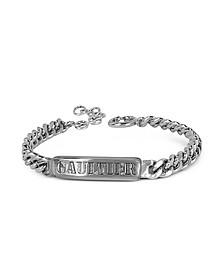 Gourmette Signature Metal Bracelet
