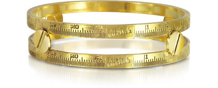 Demesure Gold-Tone Bangle Bracelet - Jean Paul Gaultier