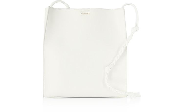 Open White Leather Tote Bag - Jil Sander