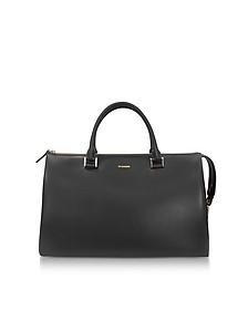 Open Miscellaneous Leather Satchel Bag - Jil Sander