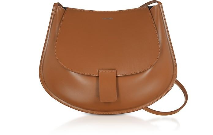 Leather Small Crescent Shoulder Bag - Jil Sander