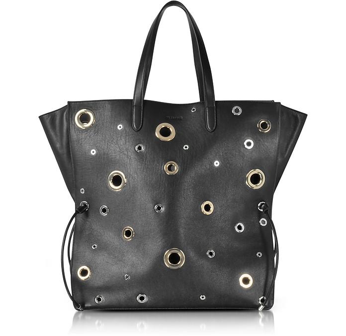 Grommet Lace Shopping Bag - Jil Sander