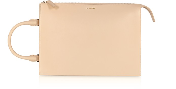Tootie Medium Knitted Leather Handbag - Jil Sander