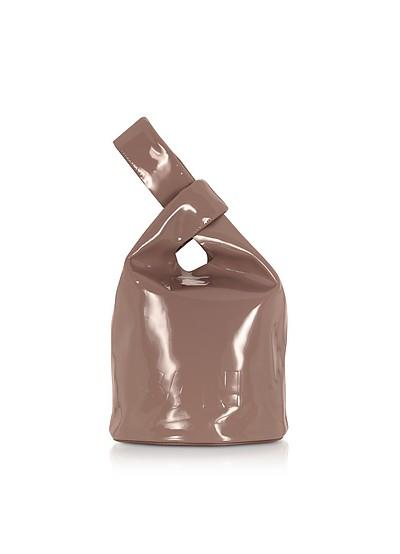 Dark Pink Small Market Bucket Bag - Jil Sander
