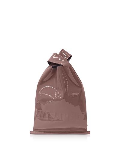 Soft Patent Leather Market Bag - Jil Sander