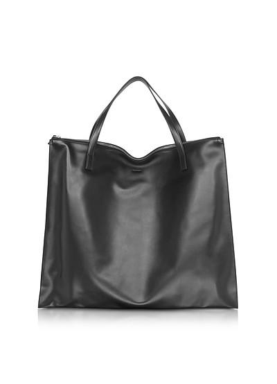 Black Zip MD Bag - Jil Sander