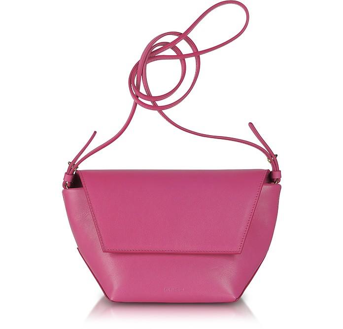 Niso Nappa Leather Shoulder Bag - Jil Sander