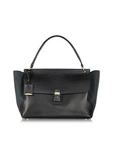 Pasini Leather Top Handle Bag