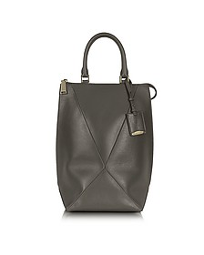 Patroclo Dark Gray Vertical Tote