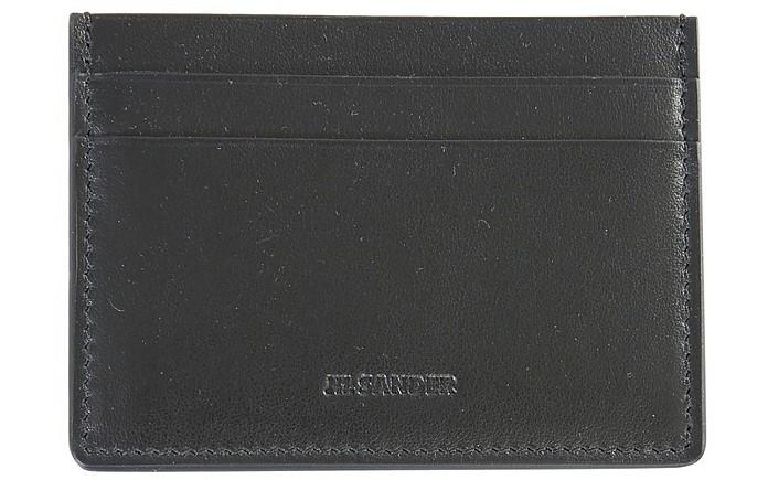 Card Holder With Logo - Jil Sander