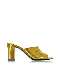 Laminated Leather High Heel Slide - Jil Sander / ジル サンダー