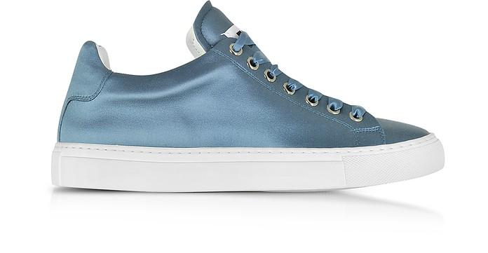Avio Satin Lace Up Sneaker - Jil Sander