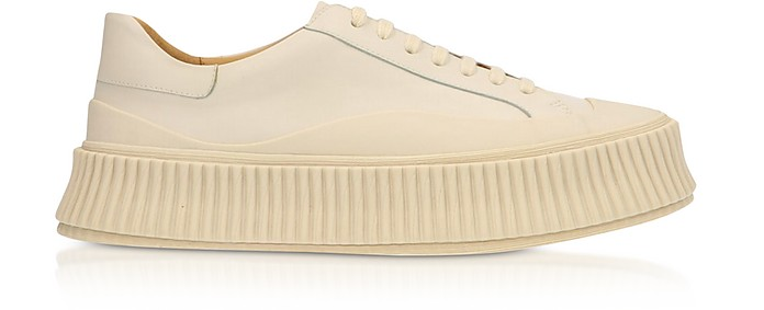 Opale Leather Flatform Sneakers - Jil Sander / ジル サンダー