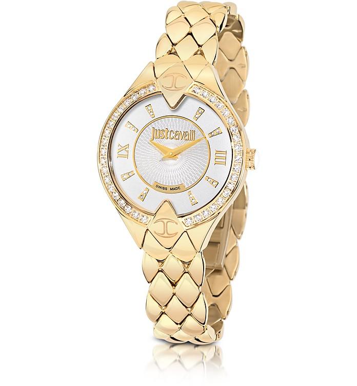 Sphinx Gold Stainless Steel Women's Watch - Just Cavalli