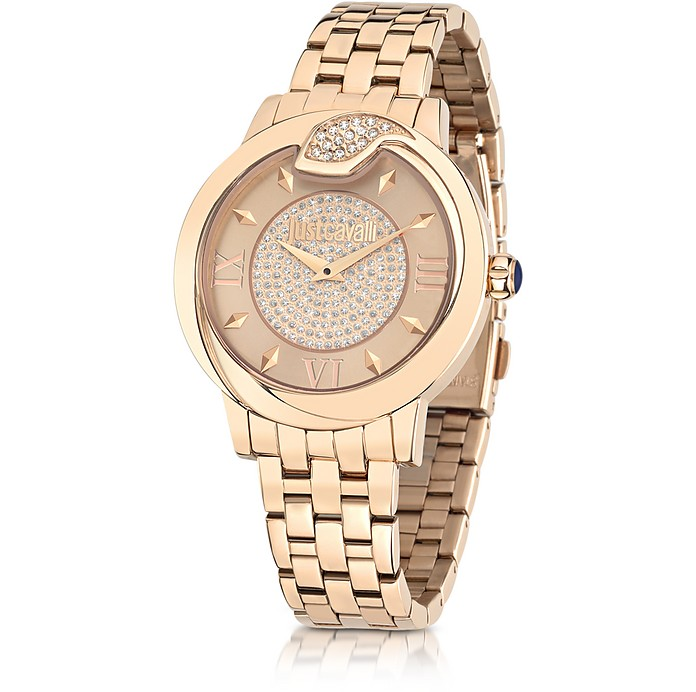 Spire JC Rose Gold PVD Stanless Steel Women's Watch - Just Cavalli