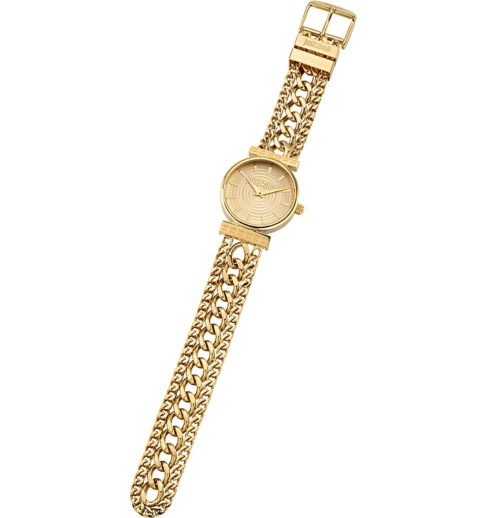 Just Couture Gold Tone Stainless Steel Women's Watch - Just Cavalli