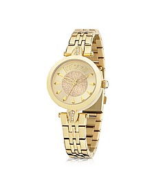 Just Florence Gold Tone Stainless Steel Women's Watch - Just Cavalli
