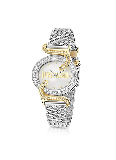 Sin JC 2H Two Tone Stainless Steel Women's Watch - Just Cavalli