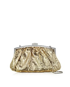 Micro Sequins Clutch w/Chain Strap - Julia Cocco'