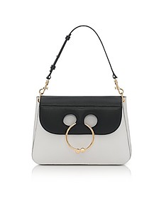 Black & White Medium Pierce Bag - JW Anderson