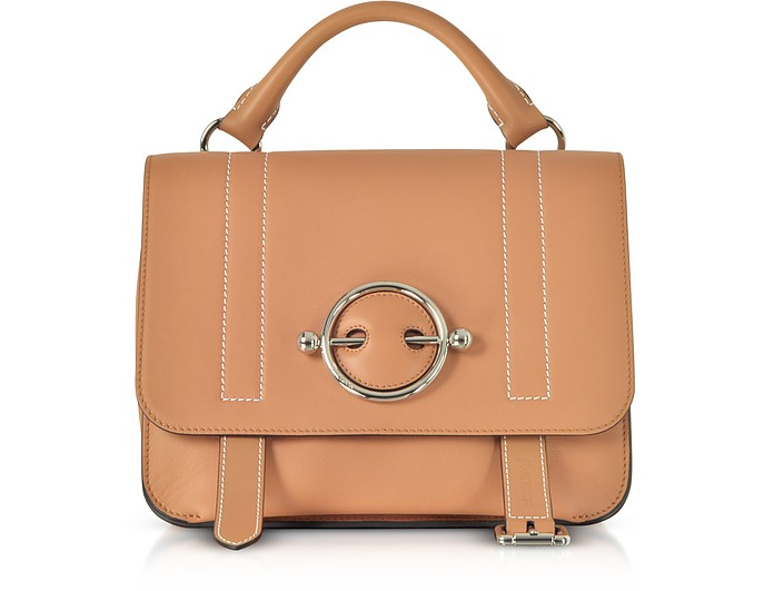 Caramel Disc Satchel Bag - JW Anderson