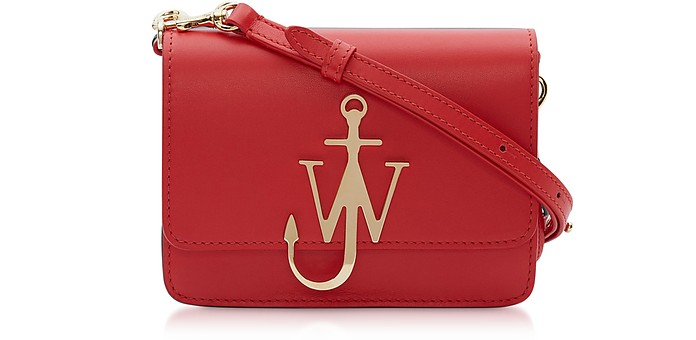 New Mini Logo Purse w/Shoulder Strap - JW Anderson