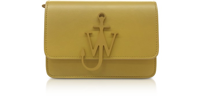 New Mini Logo Purse w/Shoulder Strap - JW Anderson