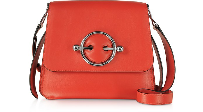 Smooth Leather Disc Bag - JW Anderson