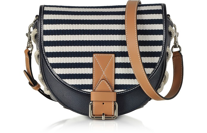 Small Bike Striped Canvas Shoulder Bag - JW Anderson / JW アンダーソン