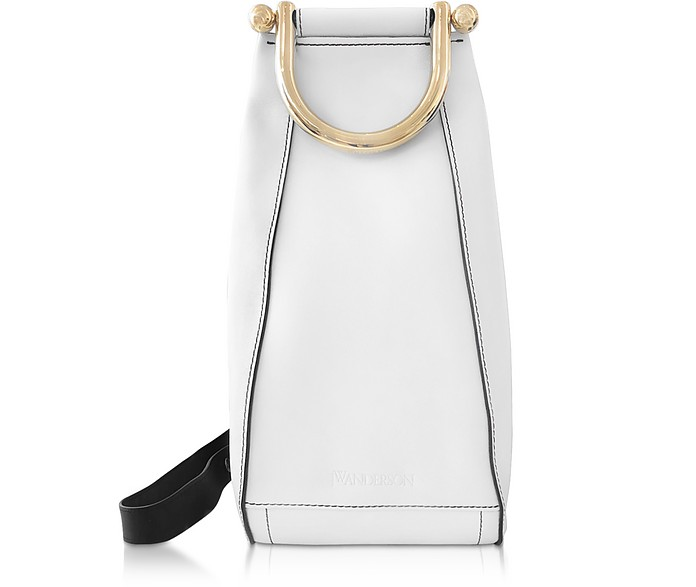 Borsa Crossbody Small Wedge in Pelle con Tracolla - JW Anderson
