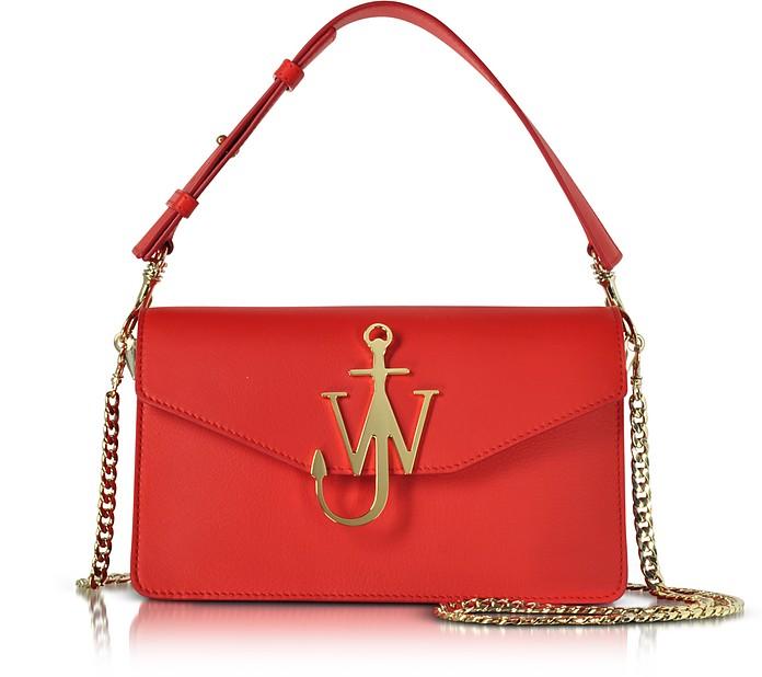 Scarlet Red Logo Purse - J.W. Anderson