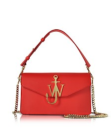 Scarlet Red Logo Purse - JW Anderson