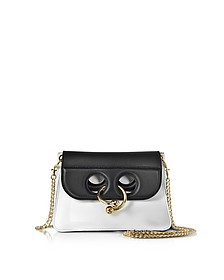 White and Black Mini Pierce Bag - JW Anderson