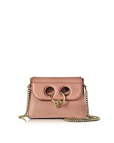 Dusty Rose Mini Pierce Bag - JW Anderson