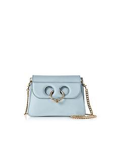 Dusty Blue Mini Pierce Bag - JW Anderson