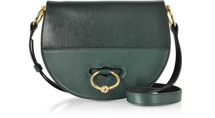 Genuine Leather Latch Shoulder Bag - JW Anderson