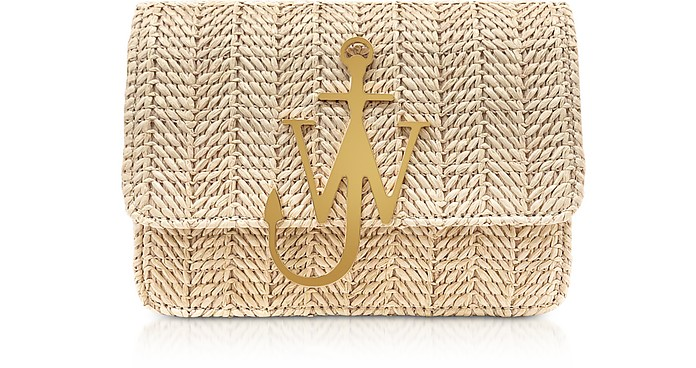 Viscose and Leather Logo Bag - JW Anderson