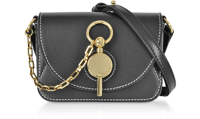 Genuine Leather Nano Key Bag - JW Anderson