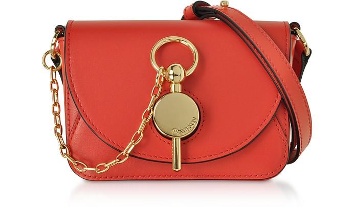 Genuine Leather Nano Key Bag - JW Anderson