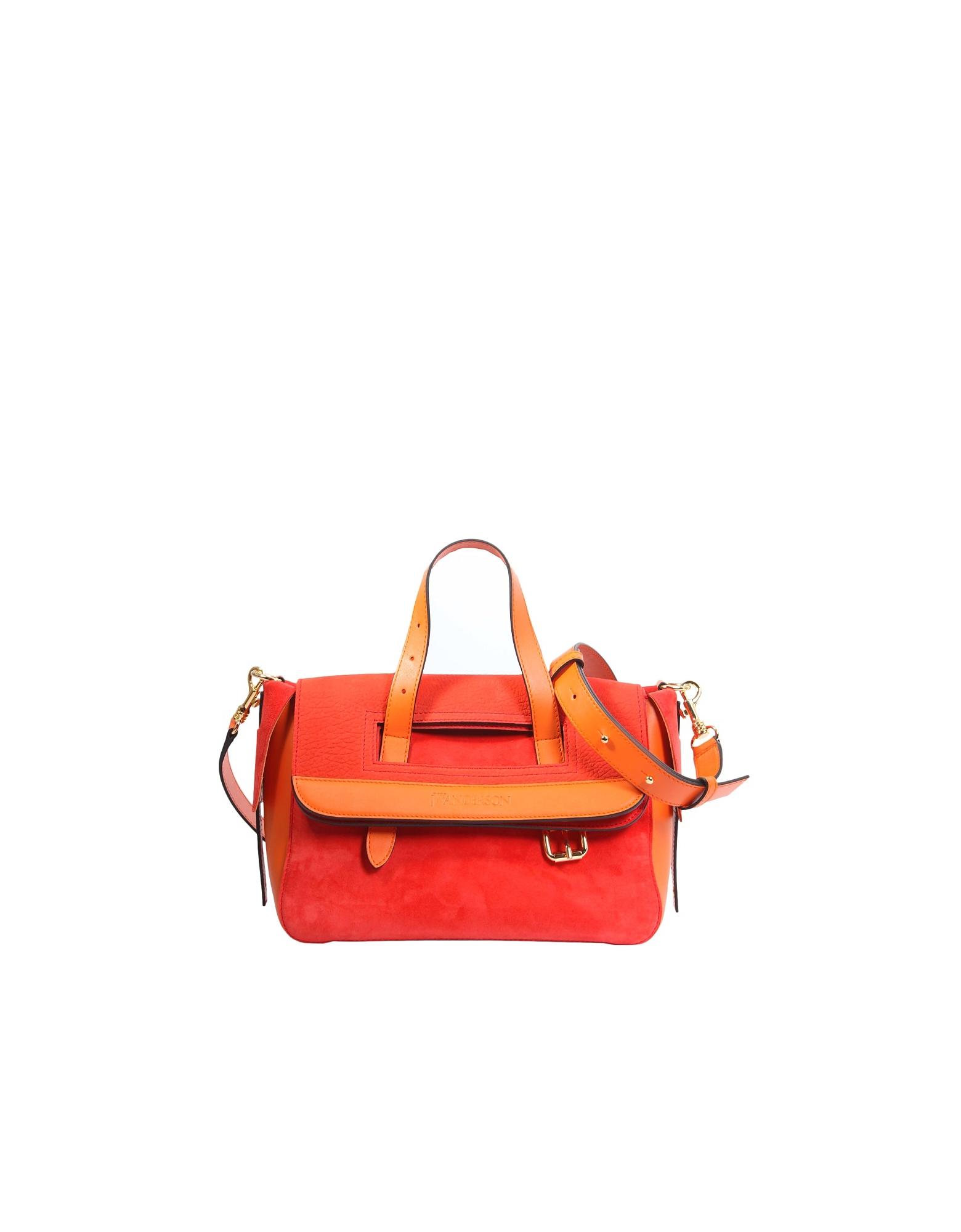 Jw Anderson Tool Mini Bag In Orange