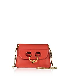 Scarlet Red Mini Pierce Bag - JW Anderson