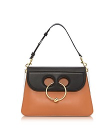Color Block Leather Medium Pierce Bag - JW Anderson