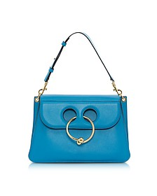 Cerulean Blue Medium Pierce Bag - JW Anderson