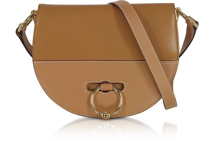 Pressed Leather Latch Bag s/Shoulder Strap - JW Anderson